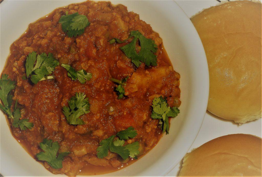 MUMBAI VEGETABLE MIX (PAV - BHAJI)